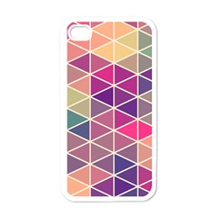 Chevron Colorful Apple iPhone 4 Case (White)