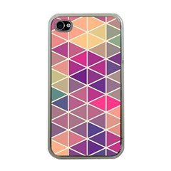 Chevron Colorful Apple iPhone 4 Case (Clear)