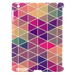 Chevron Colorful Apple iPad 3/4 Hardshell Case (Compatible with Smart Cover)