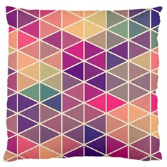 Chevron Colorful Large Cushion Case (Two Sides)