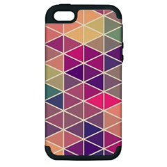 Chevron Colorful Apple iPhone 5 Hardshell Case (PC+Silicone)