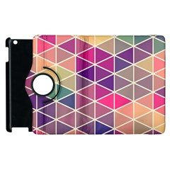 Chevron Colorful Apple iPad 2 Flip 360 Case