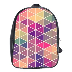 Chevron Colorful School Bags (XL)