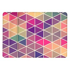 Chevron Colorful Samsung Galaxy Tab 10.1  P7500 Flip Case
