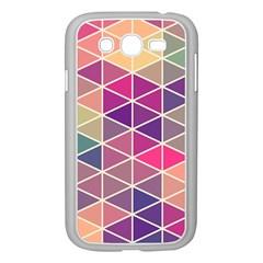 Chevron Colorful Samsung Galaxy Grand DUOS I9082 Case (White)