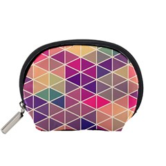 Chevron Colorful Accessory Pouches (Small)