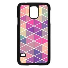 Chevron Colorful Samsung Galaxy S5 Case (Black)