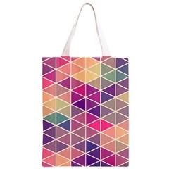 Chevron Colorful Classic Light Tote Bag