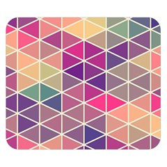 Chevron Colorful Double Sided Flano Blanket (Small)