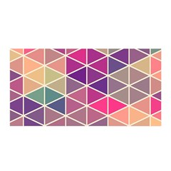 Chevron Colorful Satin Wrap