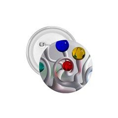 Colorful Glass Balls 1.75  Buttons