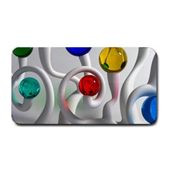 Colorful Glass Balls Medium Bar Mats