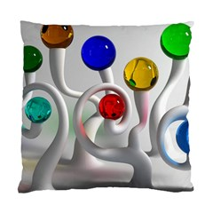 Colorful Glass Balls Standard Cushion Case (Two Sides)
