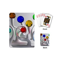 Colorful Glass Balls Playing Cards (Mini)