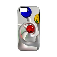 Colorful Glass Balls Apple iPhone 5 Classic Hardshell Case (PC+Silicone)