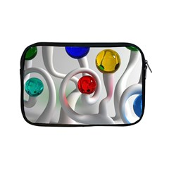 Colorful Glass Balls Apple iPad Mini Zipper Cases