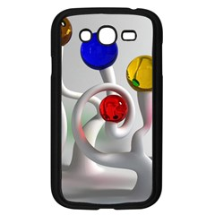 Colorful Glass Balls Samsung Galaxy Grand DUOS I9082 Case (Black)