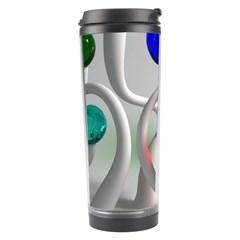 Colorful Glass Balls Travel Tumbler