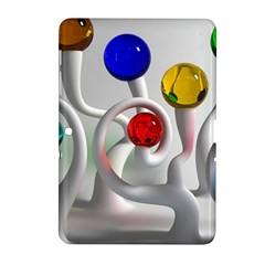 Colorful Glass Balls Samsung Galaxy Tab 2 (10.1 ) P5100 Hardshell Case