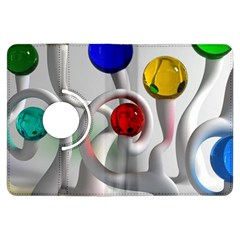 Colorful Glass Balls Kindle Fire HDX Flip 360 Case