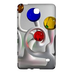 Colorful Glass Balls Samsung Galaxy Tab 4 (7 ) Hardshell Case
