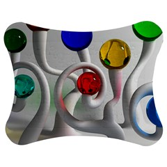 Colorful Glass Balls Jigsaw Puzzle Photo Stand (Bow)