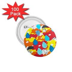 Bear Umbrella 1.75  Buttons (100 pack)
