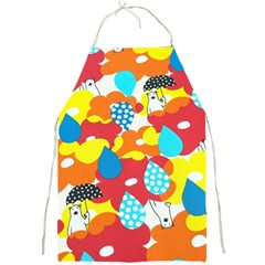 Bear Umbrella Full Print Aprons