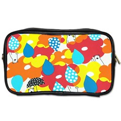 Bear Umbrella Toiletries Bags