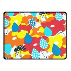 Bear Umbrella Fleece Blanket (Small)