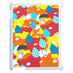 Bear Umbrella Apple iPad 2 Case (White) Front