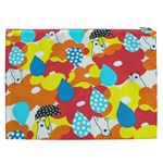 Bear Umbrella Cosmetic Bag (XXL)  Back