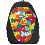 Bear Umbrella Backpack Bag Front