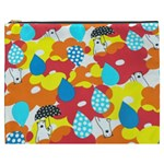 Bear Umbrella Cosmetic Bag (XXXL)  Front