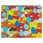 Bear Umbrella Cosmetic Bag (XXXL)  Back
