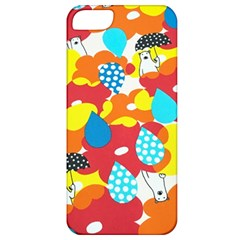 Bear Umbrella Apple Iphone 5 Classic Hardshell Case