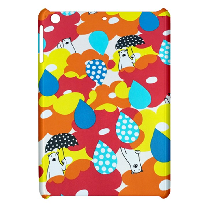 Bear Umbrella Apple iPad Mini Hardshell Case