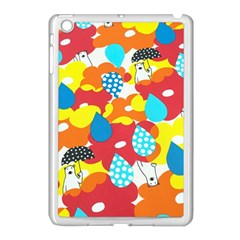 Bear Umbrella Apple iPad Mini Case (White)