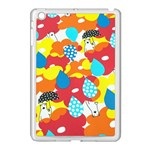 Bear Umbrella Apple iPad Mini Case (White) Front