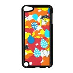 Bear Umbrella Apple iPod Touch 5 Case (Black) Front
