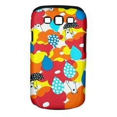 Bear Umbrella Samsung Galaxy S Iii Classic Hardshell Case (pc+silicone)