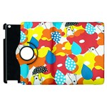 Bear Umbrella Apple iPad 3/4 Flip 360 Case Front