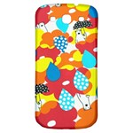 Bear Umbrella Samsung Galaxy S3 S III Classic Hardshell Back Case Front
