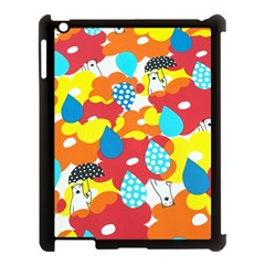 Bear Umbrella Apple Ipad 3/4 Case (black)