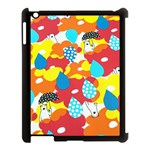 Bear Umbrella Apple iPad 3/4 Case (Black) Front