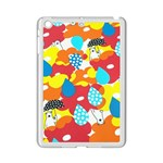 Bear Umbrella iPad Mini 2 Enamel Coated Cases Front