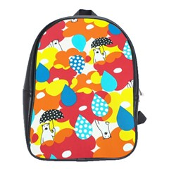 Bear Umbrella School Bags (xl)