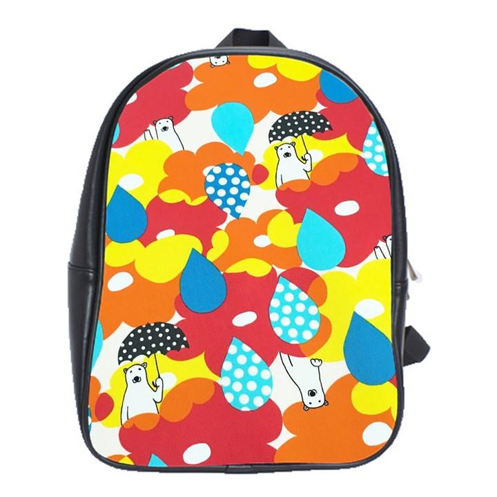 Bear Umbrella School Bags (XL)