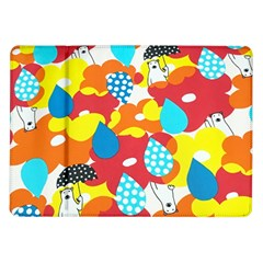 Bear Umbrella Samsung Galaxy Tab 10 1  P7500 Flip Case