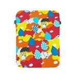 Bear Umbrella Apple iPad 2/3/4 Protective Soft Cases Front
